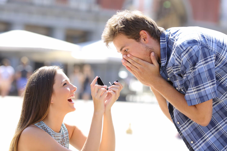 comment faire une demande de mariage à un homme