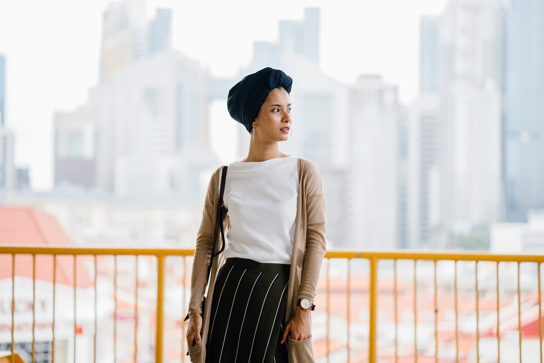turban femmes cheveux