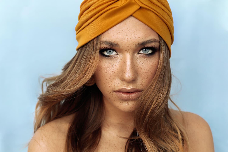 bonnet turban femme